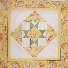 Elementary Star Wall Hanging Quilt Pattern
