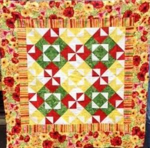 Marti Gras Quilt Pattern
