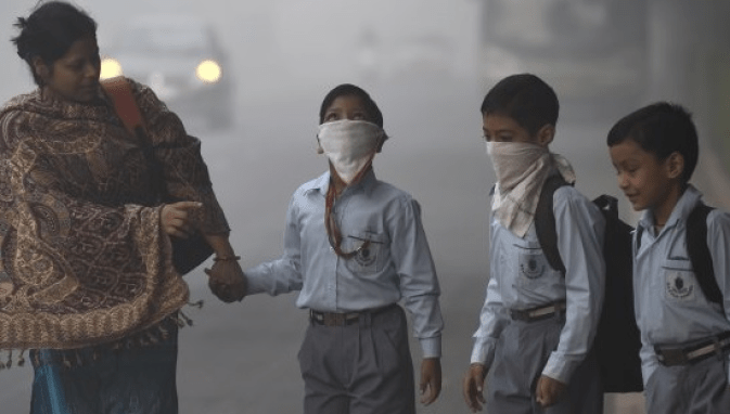 Delhi Air pollution: Increase of AQI in Delhi NCR 5