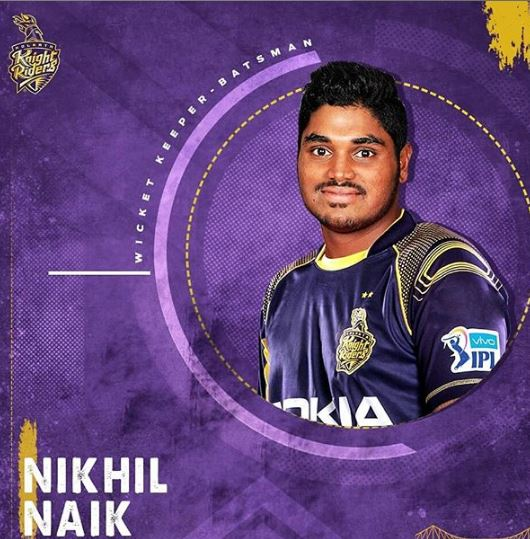 IPL Auction 2019: Players Bought By Kolkata Knight Riders Nikhil NAIK