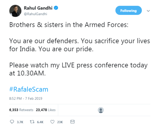 RAFALE Deal: Rahul Gandhi's Press conference on Rafale Deal 1