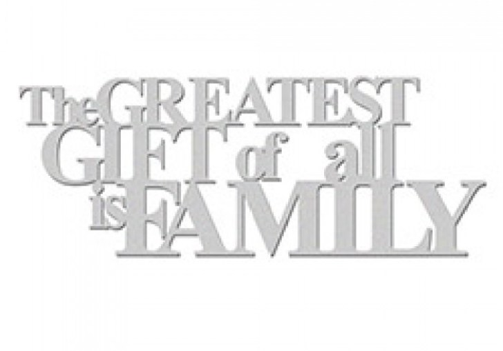 The Greatest Gift Of All Is Family Plaque