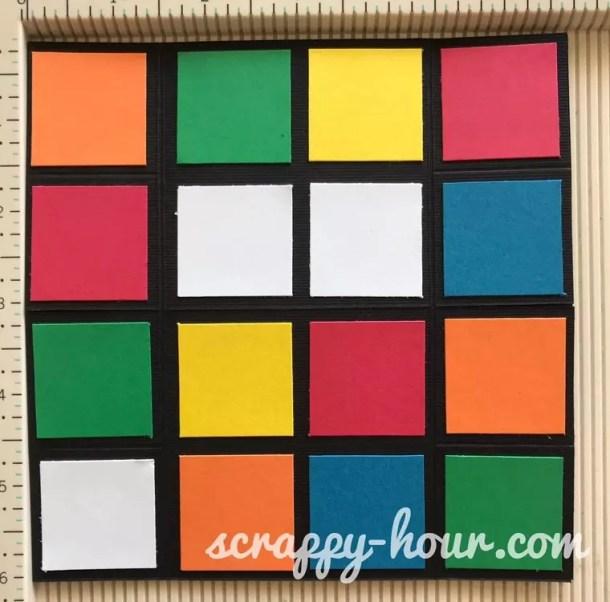 Rubik's Cube Infinity Card Tutorial - Scrappy Hour