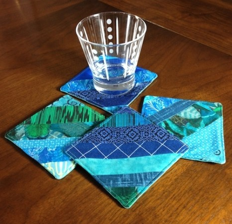 Teal Coasters2 with glass