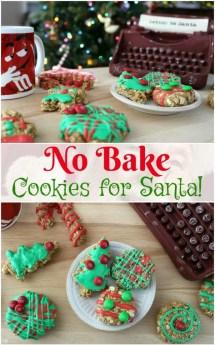 Bake Oatmeal Cookies Santa - Scrappy Geek