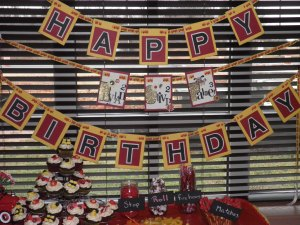 "Basic ""Happy Birthday"" Banner"