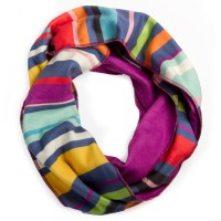 Cool Stripes Infinity Scarf
