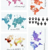Map related PL Printables
