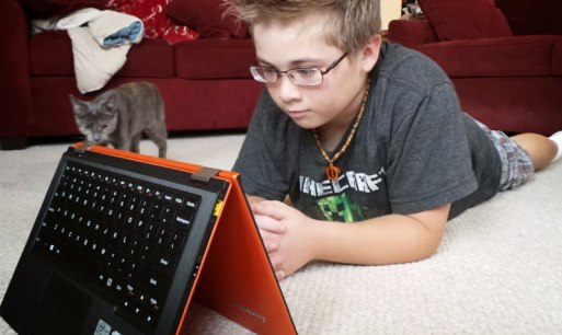 Kids and technology.