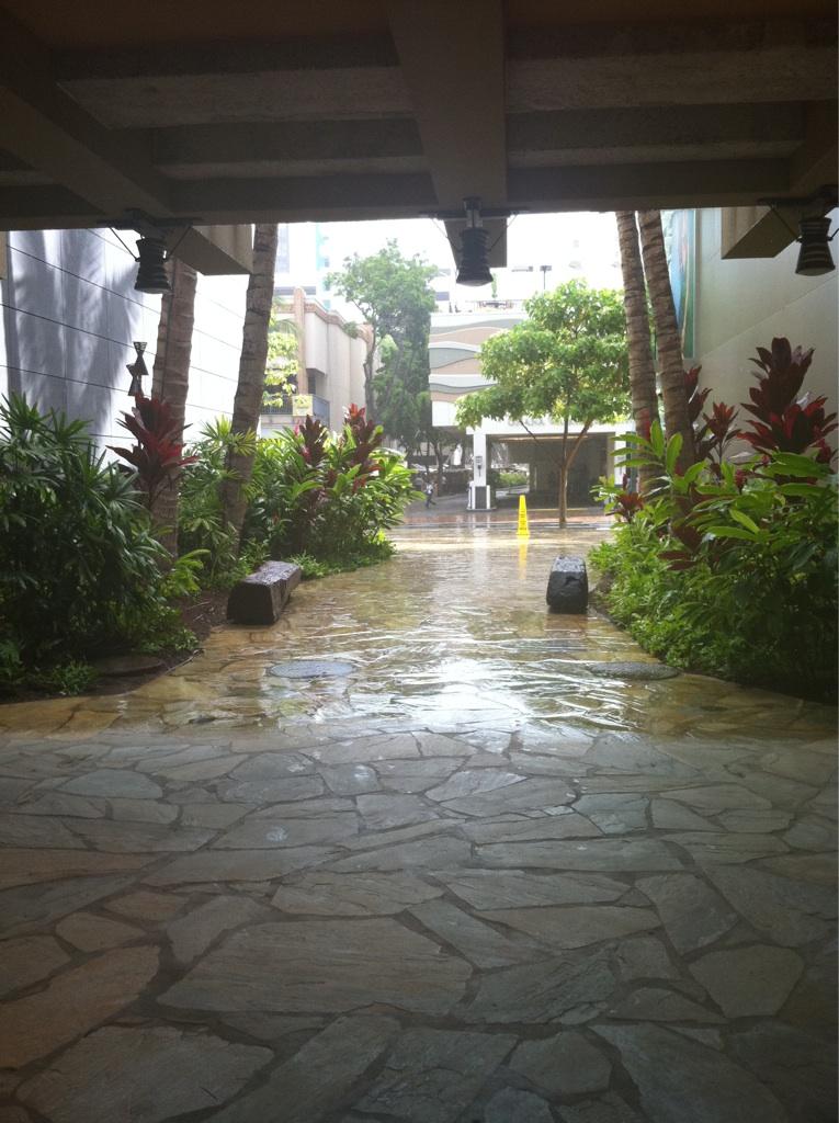rain in Hawaii