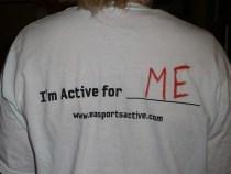 ScrappinMichele EA SPORTS Active shirt