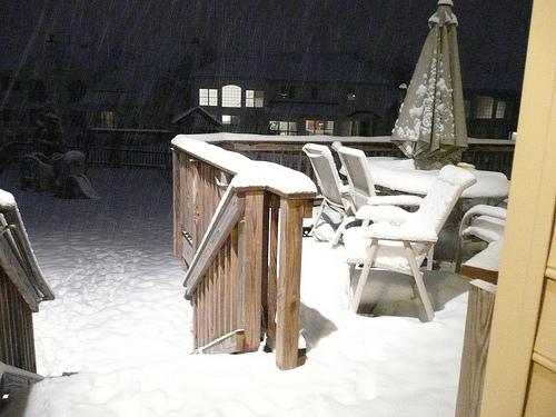 6pm Snowmageddon 2010 started in DC