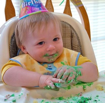 Nicky First Birthday