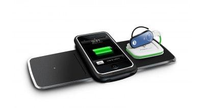 3x Wireless Charging Mat with Universal Powercube (PMM-3PA-B1) | Powermat