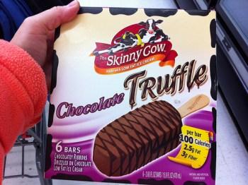 Skinny Cow Chocolate Truffle