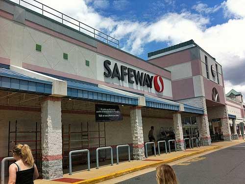 Safeway Dairy shopping