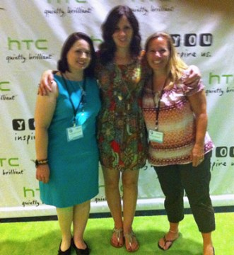 HTC tech companies supporting women at BlogHer