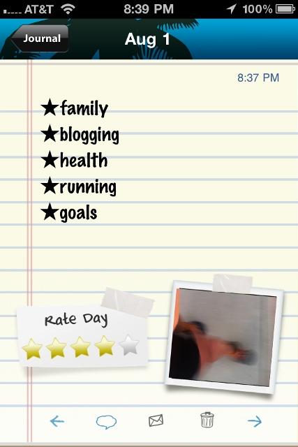 gratitude journal app