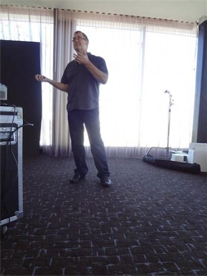 Brian Smith, Celebrity Photographer, Sony PhotoFunMom event