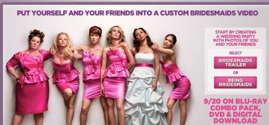 being bridesmaids movie