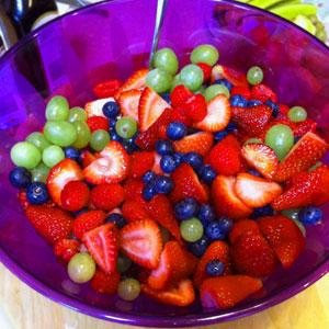 summer fruit salad splenda
