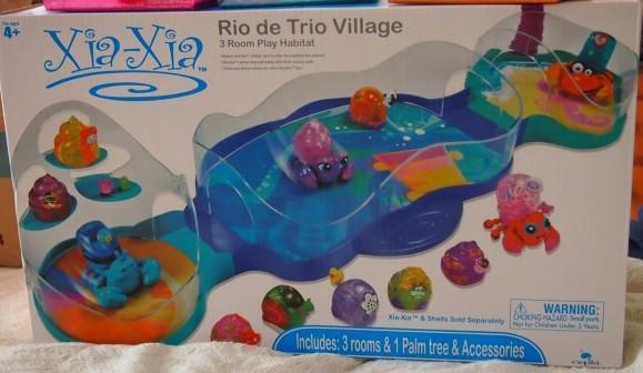 Xia-Xia Rio de Trio Village