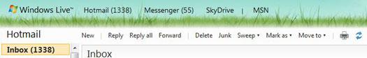 hotmail toolbar