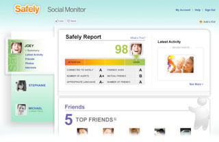 safely social monitor overview