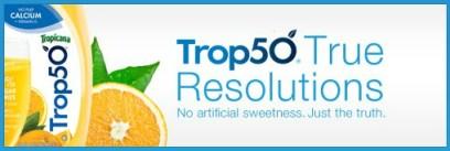 Trop50 True Resolutions 2012