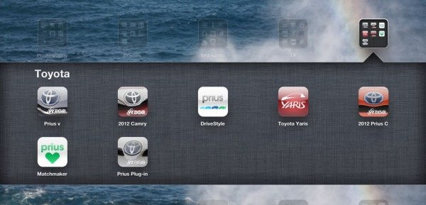 toyota apps for ipad