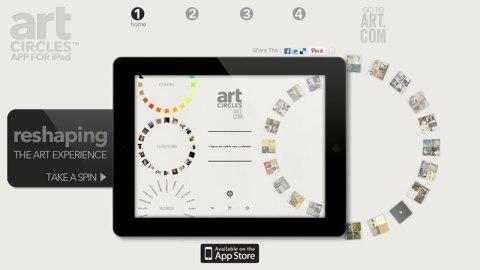 artcircles ipad app