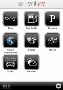 entune iphone app