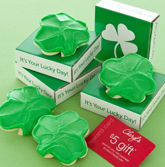 St Patricks cookie