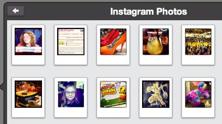 instagram choose photos animoto