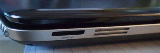 HP dv6 media card reader
