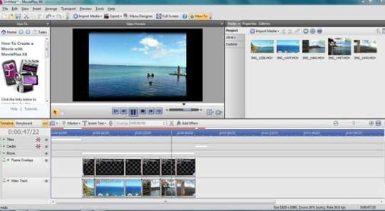 movie editing software video