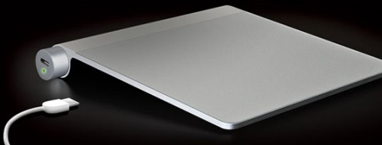 The Power Bar charges Apple Trackpad