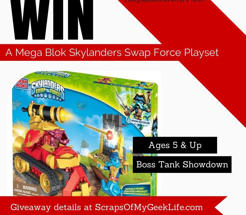 Mega Bloks Skylanders Swap Force