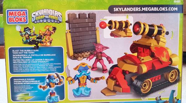 Skylanders Mega Bloks box