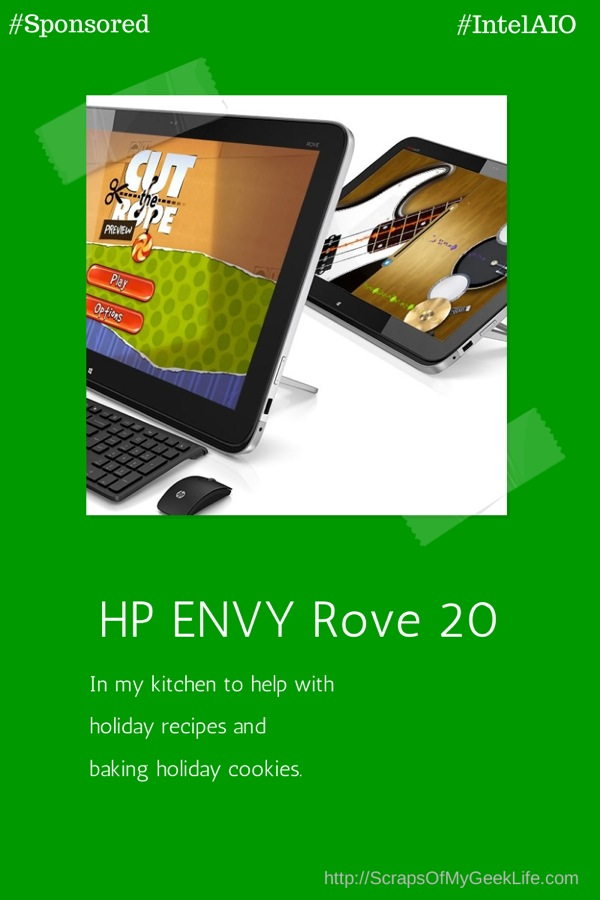 Holiday recipes with HP ENVY rove 20