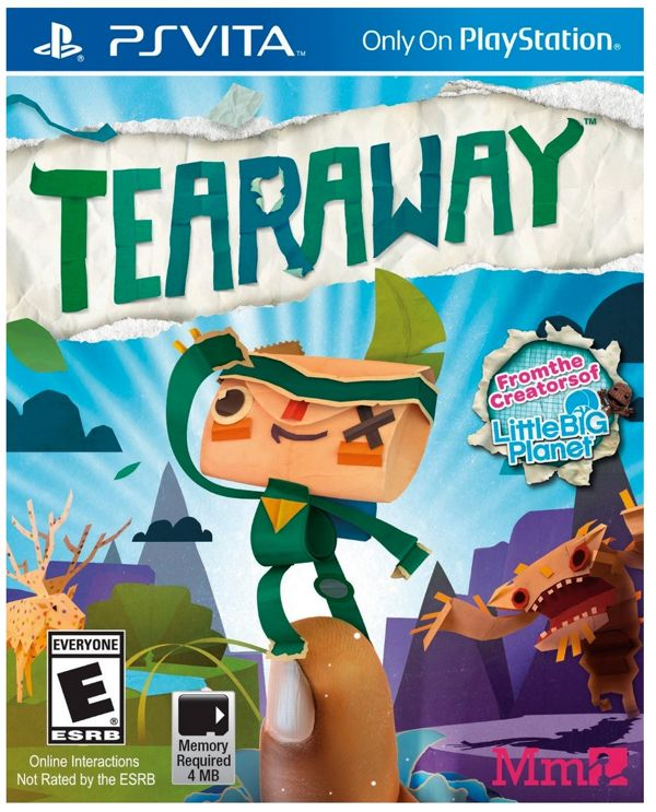 Tearaway for Playstation Vita