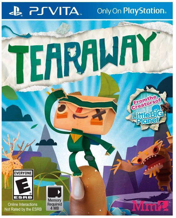 Tearaway for Playstation Vita