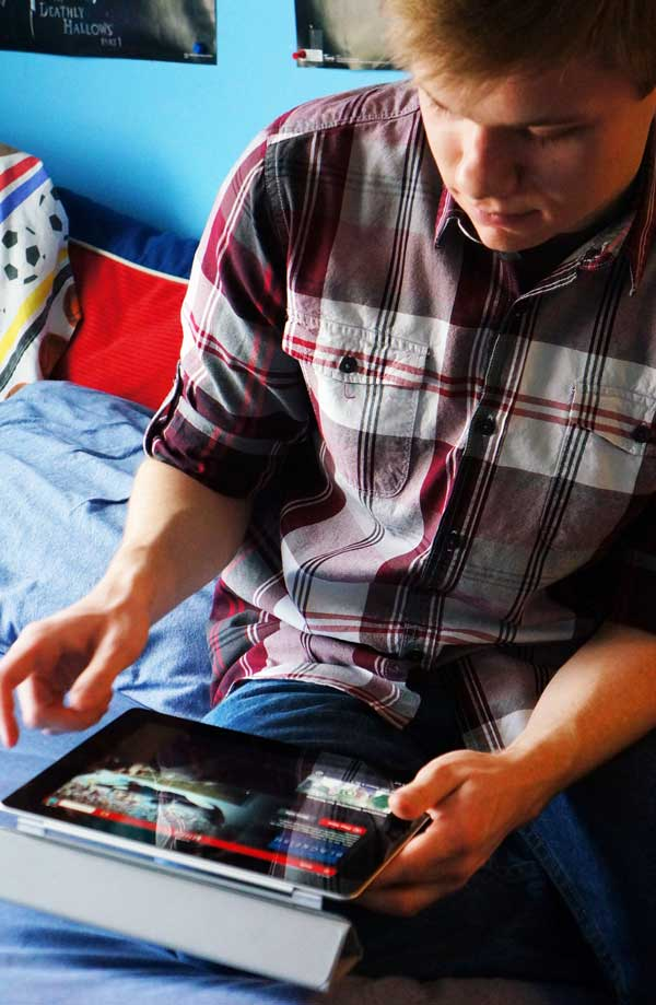 binge watching tv shows on netflix