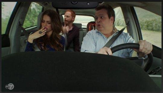 Modern Family in Prius