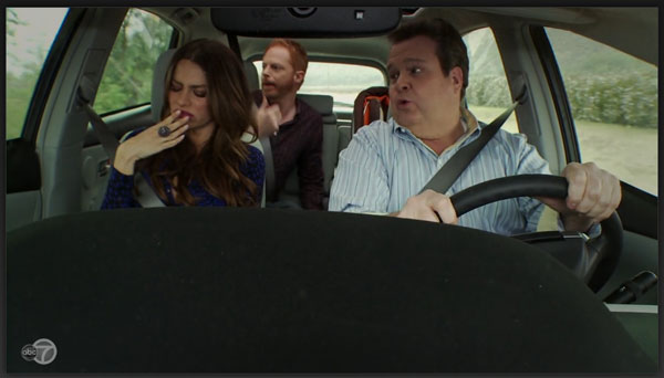 Modern Family in Prius