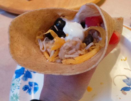 mccormick soft shell taco night