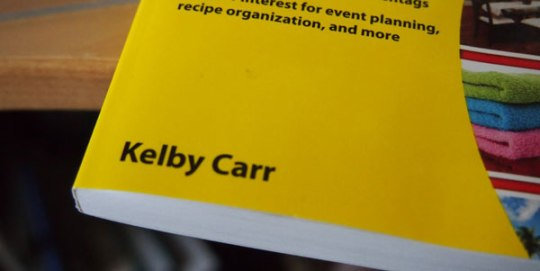 Kelby Carr wrote Pinterest For Dummies