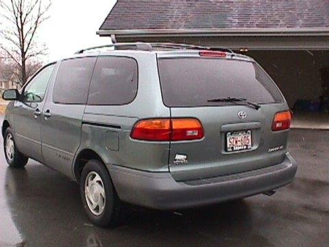 toyota sienna minivan milestones car
