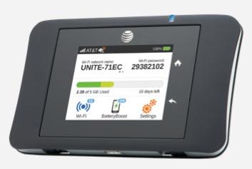 Netgear AT&T Unite Pro hotspot