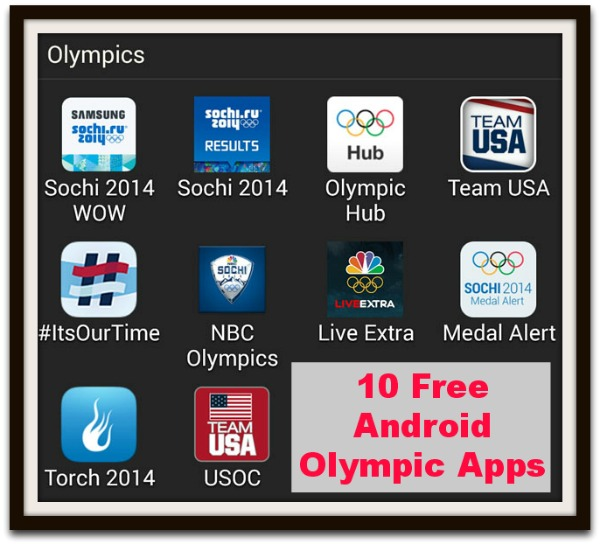 10 free android olympic apps